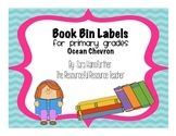 Book Bin Labels for Primary Grades (with pictures!)- Ocean