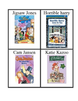 Book Bin Labels with Pictures