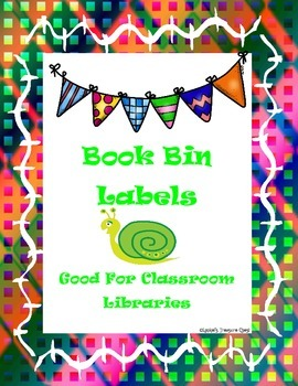 Book Bin Lables II