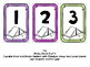 Book Bin Numbers for Student Bins (Camping Theme)