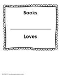 Book Bin Sign (Teacher Loves)