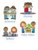 Book Bin Signs