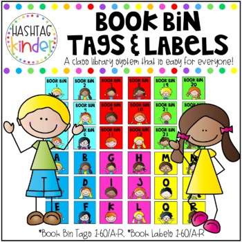 Book Bin Tags and Labels