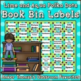 Book Bin and Basket Labels