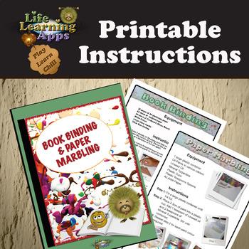 Book Binding and Paper Marbling Teacher Resource