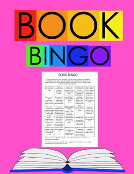 Book Bingo-EDITABLE