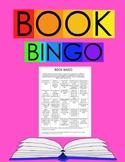 Book Bingo-EDITABLE