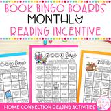 Book Bingo Home Connection-Reading Incentive (Editable) Di