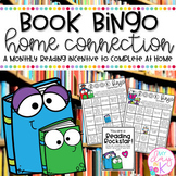 Book Bingo Home Connection-Reading Incentive (Editable)
