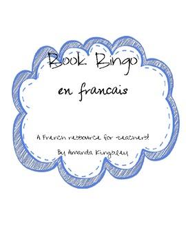 Book Bingo en français!