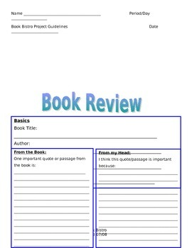 Book Bistro Book Review