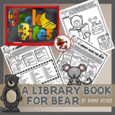 Book Bite {A Library Book for Bear} / Reading Interest Survey