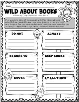 Book Bite {Wild About Books} / Book Care