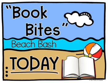 Book Bites - Book Tasting Resource - Three Editions Beach Bash, Picnic, Generic