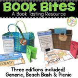 Book Bites - Book Tasting Resource - Three Editions Beach