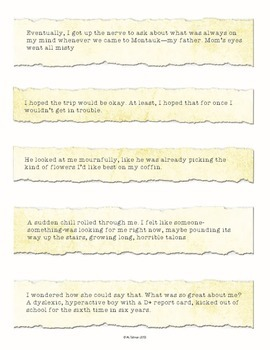 """""""Book Bits"""": a Fun Pre-reading Activity for The Lightning Thief"""