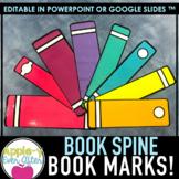 Book Bookmark - Editable Template