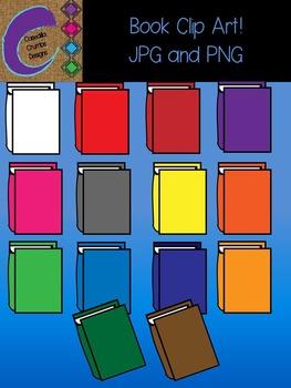 Book Books Clip Art Color Images Designs