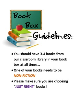 Book Box Guidelines