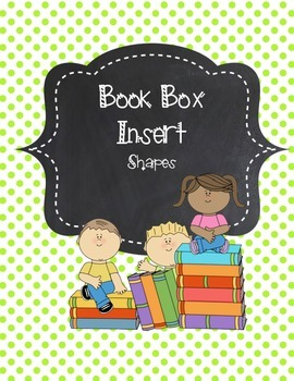 Book Box Insert - SHAPES
