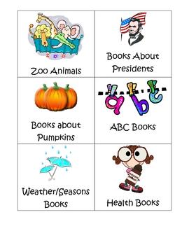 Book Box Labels