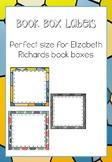 Book Box Labels EDITABLE