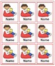 Book Box Labels - Freebie! - Just add your kiddos names an