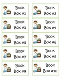 Book Box Labels (Larger)