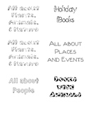 Book Box Labels - Picture Books
