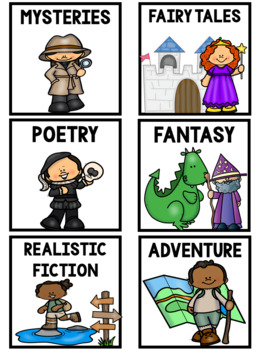 Book Box Labels for Your Classroom Library