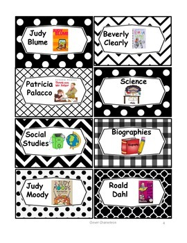 Book Box Labels for your Library