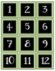 Book Box Numbers {Green}