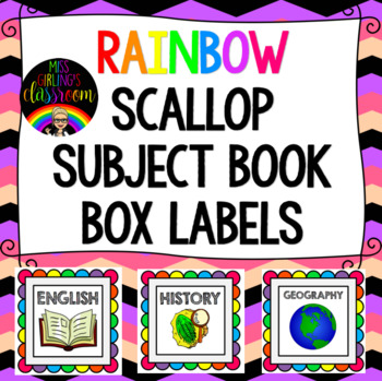 Book Box Subject Labels