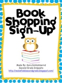 Book Boxes Shopping Sign-Up - Owl and Polka-dot Theme