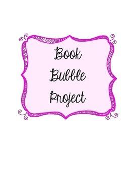 Book Bubble Book Report