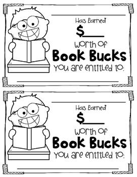 Book Bucks Reading Incentive