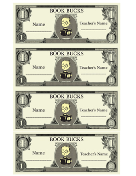 Book Bucks Set
