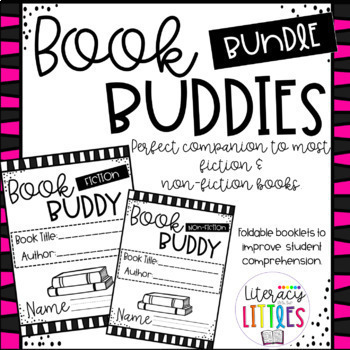 Book Buddies Bundle{Fiction & Non-fiction comprehension booklets}