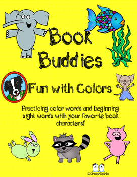 Book Buddies Fun with Colors Pack
