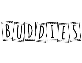 Book Buddies Label