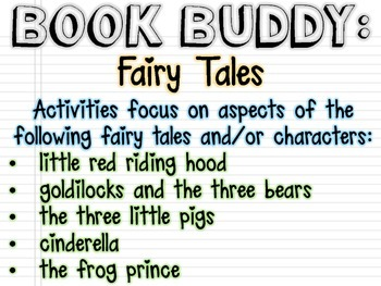Book Buddy: Fairy Tales
