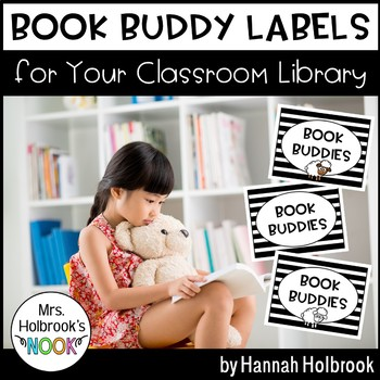 Book Buddy Labels: For Your Classroom Library