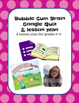 Book Buddy for Bubble Gum Brain by Julia Cook