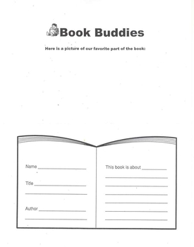 Book Buddy form