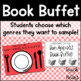 Book Buffet ~ A Book Tasting / Sampling of different genres for Reading