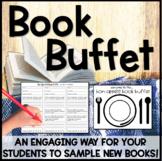 Book Buffet ~ A Book Tasting / Sampling of different genre