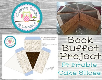 Book Buffet Project Printable- Build A Cake!