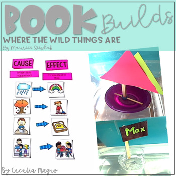 Book Builds - Literacy and STEM Where the Wild Things Are