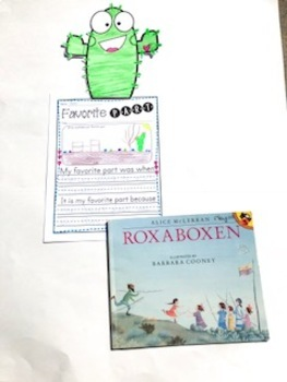 Book Builds - Literacy and STEM Roxaboxen