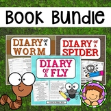 Book Bundle: Diary of a Worm, Fly & Spider